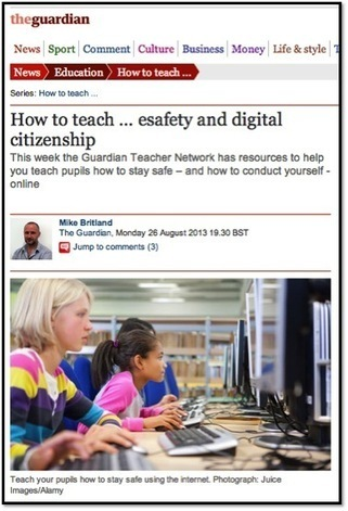 OllieBray.com: It is not about e-safety, it is about digital citizenship ... | E Safety | Scoop.it