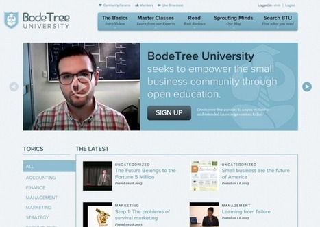 BodeTree, The Financial Tool For People Who Hate Finance, Launches A Free Education Platform For Small Business Owners   Collective Intelligence & Distance Learning   Scoop.it