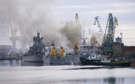 Russian Nuclear Submarine Goes Up In Flames | Business Video Directory | Scoop.it