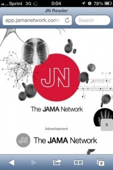 JAMA Network Reader iPad & iPhone medical app review | medical | Scoop.it