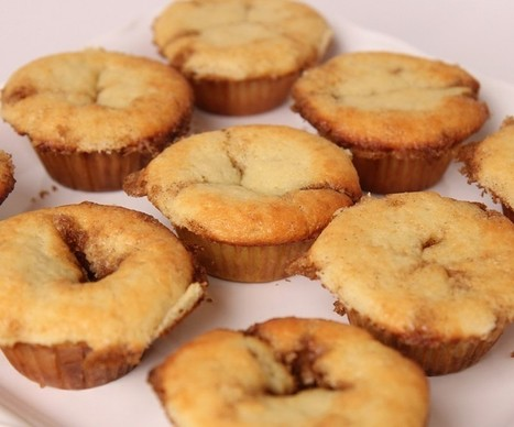Cake Recipe-Vanilla Yogurt Muffins   desserts   Scoop.it