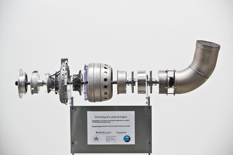Forget food and guns, the first 3D-printed jet engines have arrived   Peer2Politics   Scoop.it