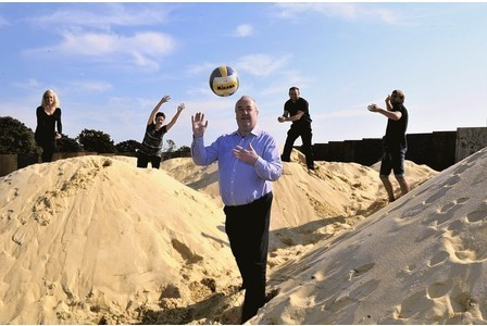 Beach volleyball in Brentwood - miles from coast | Beach Volleyball | Scoop.it