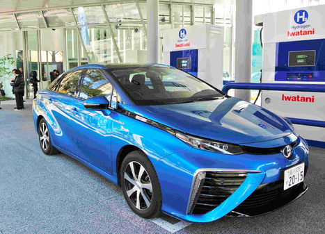 Japan seeks to increase fuel cell vehicles to 800,000 by 2030:The Asahi Shimbun | Hydrogen for a smarter energy mix | Scoop.it