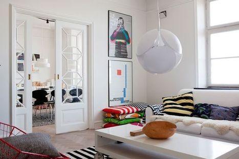 Un appartement design en Suède | | PLANETE DECO a homes worldPLANETE DECO a homes world | Ma décoration d'intérieur | Scoop.it