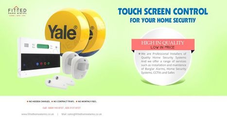 Buy Fully Fitted YALE 6400 Premium Telecommunicating Alarm | Yale HSA 6400 Burglar Alarm from Assa Abloy | Home Security | Scoop.it