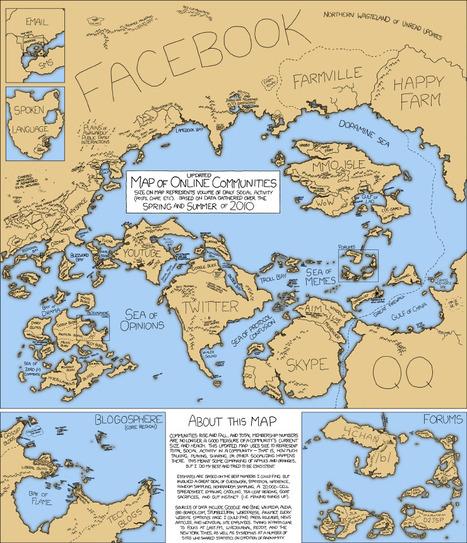 xkcd: Online Communities 2 | Map@Print | Scoop.it