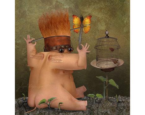 Scientist  surreal digital art photo manipulation by YuliyaArt | Socialart | Scoop.it