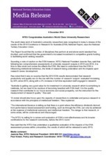2012 ERA (Excellence in Research for Australia) Results ... - tice | Business Protocol | Scoop.it