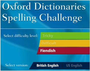 Oxford Dictionaries Spelling Challenge | Learning English is FUN! | Scoop.it