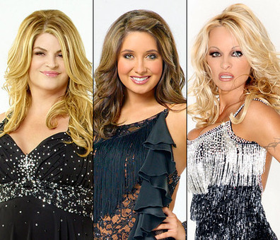 "Celebrity for the World: Pamela Anderson with Palin, Alley, Fatone etc. back in ""Dancing With The Star"" 