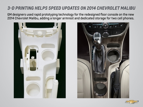 GM's Malibu in 3-D - Point of View - June 2013   3D Printing   Scoop.it