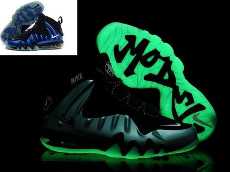 Nike Barkley Posite Max Shoes Glow In The Dark Black Blue Hot Sale Online   Cheap Glow In The Dark Adidas Online   Scoop.it