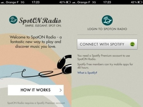 SpotON Radio, une application pour enrichir facilement son Spotify | Time to Learn | Scoop.it