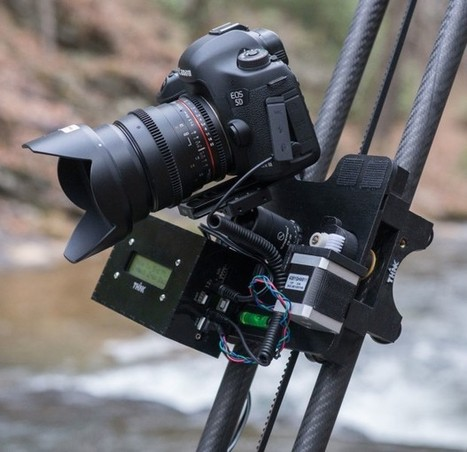 DIY: Impressive 3D-Printed 3-Axis Modular Time-Lapse Motion Control System | Photo Tips Tricks & Cheat Sheet | Scoop.it