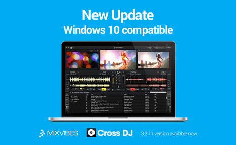 Mixvibes Cross DJ goes to 11... v3.3.11 | DJing | Scoop.it