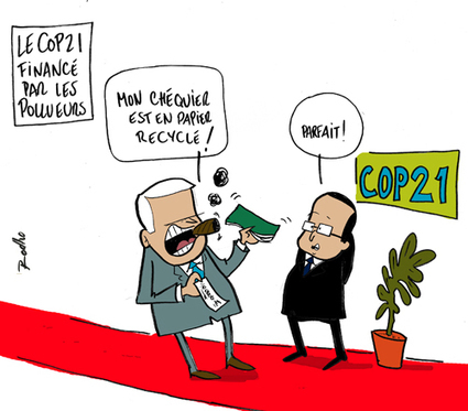 La Conférence sur le climat de Paris sera-t-elle sponsorisée par des multinationales polluantes ? | RSE et développement durable | Scoop.it