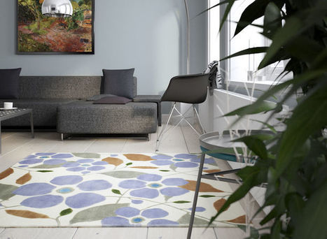 Welcome this spring with a new colorful carpet - CarpetVista   Inspiration and decorating with Handmade carpets   Scoop.it