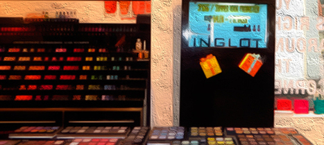 Dazzling Digital Signage: In-Store Beauty With Inglot | POPAI | Integrated Brand Communications | Scoop.it