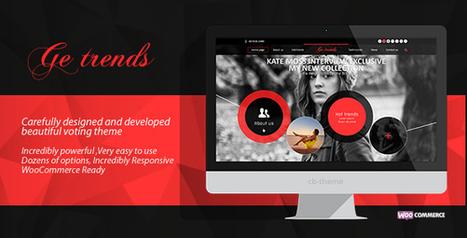 GE Trends- Responsive Voting WordPress Theme Download | Best Wordpress Themes | Scoop.it