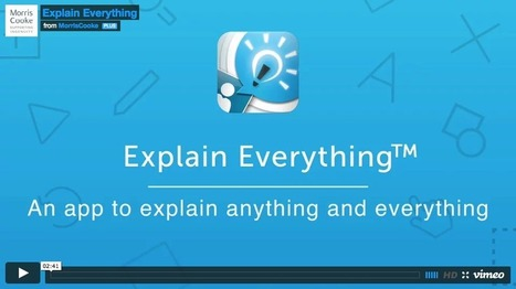 5 Things Every Teacher Should Be Able to Do with Explain Everything App ~ Educational Technology and Mobile Learning | STEAM - Science, Technology, Engineering, Arts & Mathematics | Scoop.it