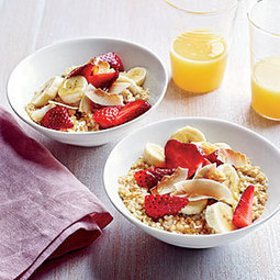 A Kid in the Kitchen: Breakfast Quinoa - Cooking Light | Great Recipes | Scoop.it