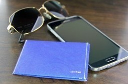 SlimFold Wallet Micro Blue/White | HighTechPoint | Scoop.it