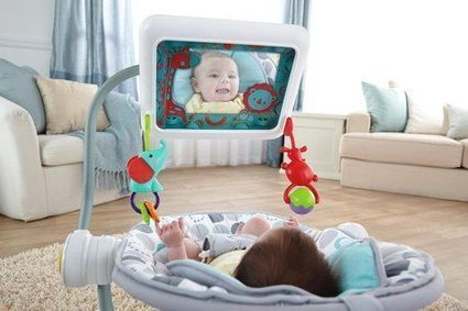 Bouncy Seats Now Come With iPad Holders -- Just What Baby Needs | Troy West's Radio Show Prep | Scoop.it