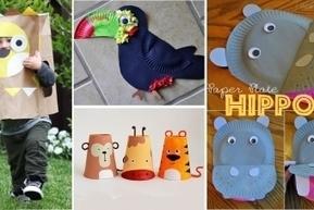 Ces 14 jolis bricolages servis aux enfants. Exercez-vous ! | Arts et FLE | Scoop.it