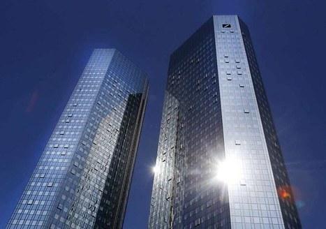 En perte, Deutsche Bank se sépare d'un quart de son personnel | Allemagne Commerce et Industrie | Scoop.it