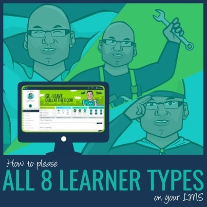 How to Please All 8 Learner Types on your Learning Platform | Educational Technology | Scoop.it