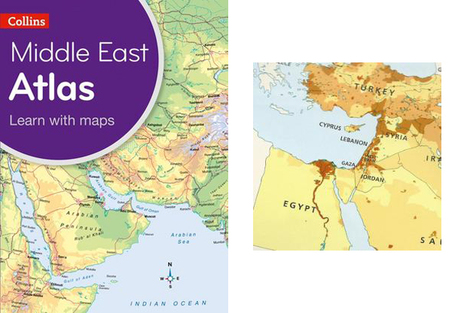 HarperCollins omits Israel from maps for Mideast schools, citing 'local preferences' | formação continuada online para professores de inglês | Scoop.it