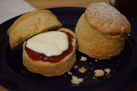Classic Cream and Jam Scones - BrightSpring | BrightSpring and Delicious Food | Scoop.it