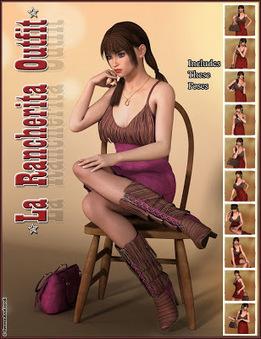 3d Model Art Zone: 3d Models Art Zone - La Rancherita Outfit and Accessories | 3d Models | Scoop.it
