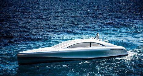 Mercedes crée son premier yacht de luxe | J'écris mon premier roman | Scoop.it