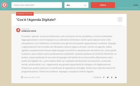 L'Agenda Digitale e' necessaria. Ed e' di tutti | Conetica | Scoop.it