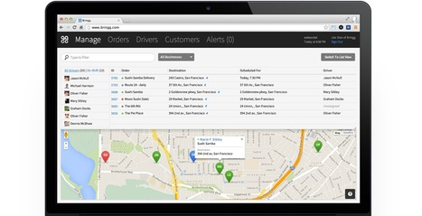 Track Your Orders in Real Time with this Mobile Application | Web-development-Montreal | Scoop.it