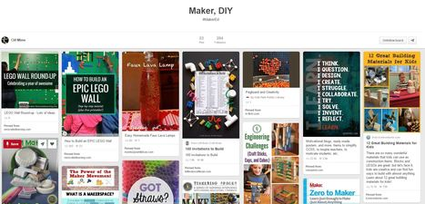 Maker, DIY - Pinterest Board by Clif Mims @clifmims | iPads, MakerEd and More  in Education | Scoop.it