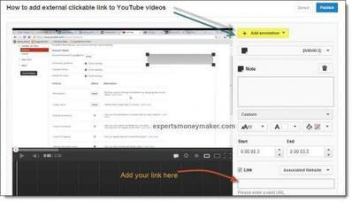 How To Add Links In Your You Tube Videos? | online investment | Scoop.it