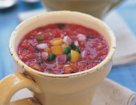 Andalusian Gazpacho | Healthy Whole Foods | Scoop.it