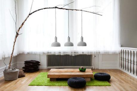 Cómo hacer lámparas con ramas | openDeco. Decoración e interiorismo. | lámparas | Scoop.it