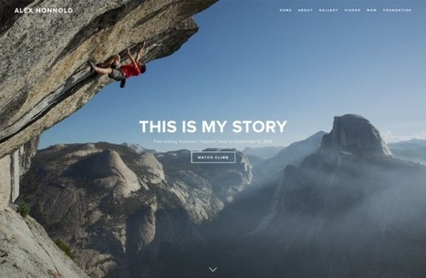 Squarespace, Free Climber Take Brand Ad to New Heights - PSFK | Escalade libre | Scoop.it