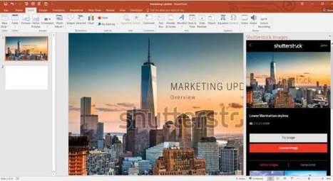 Shutterstock lanza su plugin para PowerPoint | e-Learning, Diseño Instruccional | Scoop.it