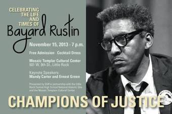 Bayard Rustin Champions of Justice | The Giving Net | Scoop.it