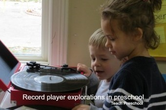 Record player explorations in preschool | Teach Preschool | Scoop.it