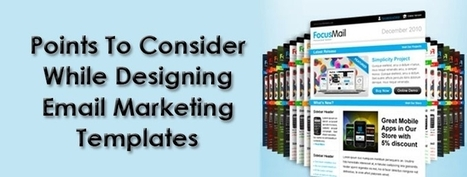 Points To Consider While Designing Email Marketing Templates | B2B Data Matching | Scoop.it