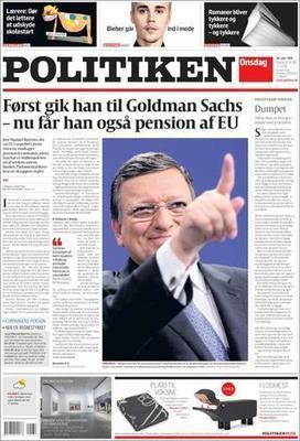Barroso: employé de Goldman Sachs et aussi retraité de l'UE | Econopoli | Scoop.it