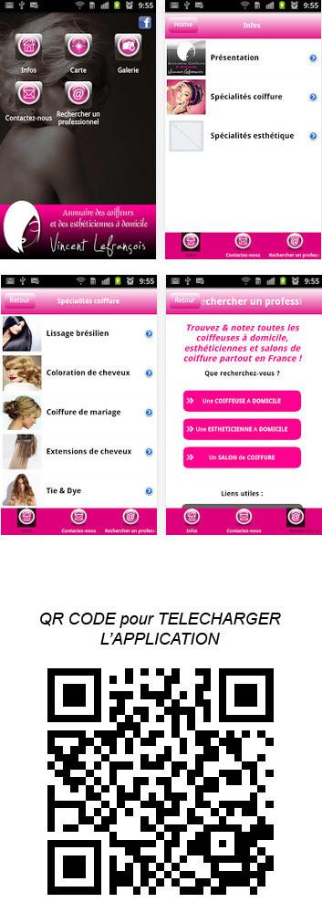 Nouvelle application mobile pour ANDROID | Coiffeurs : dernières tendances, bons plans et bonnes adresses | Scoop.it