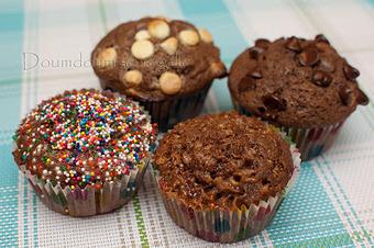 Petits gâteaux minute au chocolat | Doumdoum se régale! | Gateaux | Scoop.it