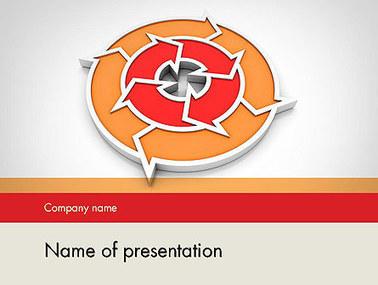 Circular Flow Diagram Presentation Template | Presentation Templates | Scoop.it